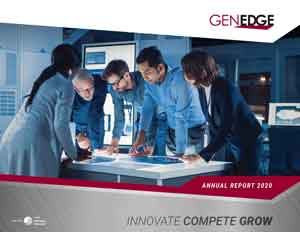 Thumbnail of the GENEDGE 2020 Annual Report