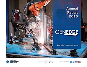 Thumbnail of the GENEDGE 2016 Annual Report