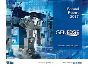 Thumbnail of the GENEDGE 2017 Annual Report