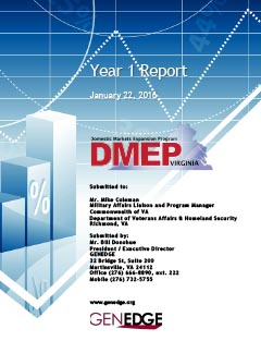 View the VA DMEP report for year 1